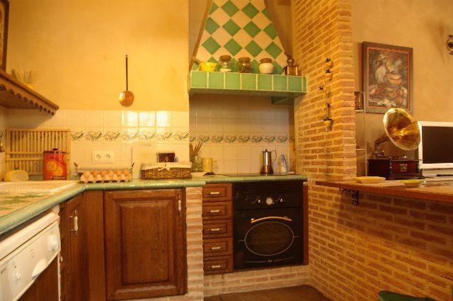 COCINA 11 1 - Casa rural con chimenea
